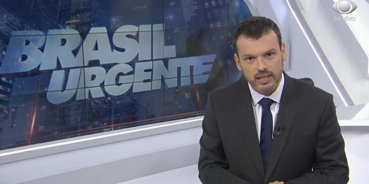 Lucas Martins no Brasil Urgente (Foto: Reprodução)