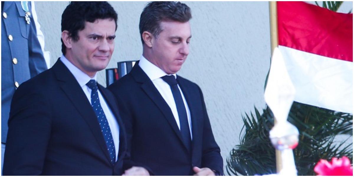 Luciano Huck se encontrou com Sergio Moro e propôs aliança política (Foto: Reprodução)