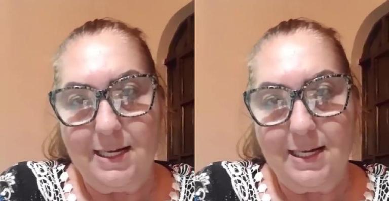 Mãe de Virgínia se irritou com os comentários de que é sustentado pela mãe (Foto: Reprodução)