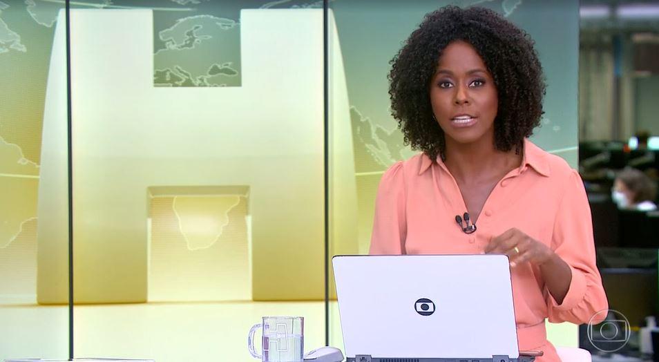 """Maju no """"Jornal Hoje"""" desta quarta (Foto: Reprodução/TV Globo)"""