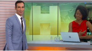 César Tralli e Maju Coutinho viram queridinhos na Globo - Foto: Reprodução