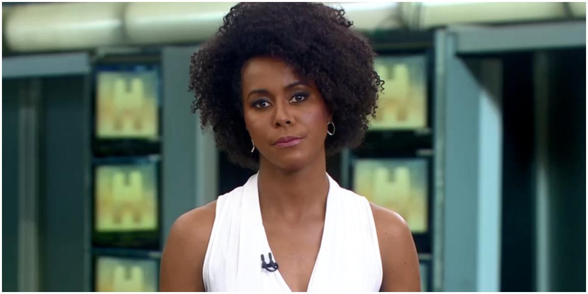 Maju Coutinho no Jornal Hoje da Globo - Foto: Reproduçao