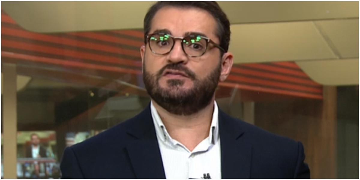 Marcelo Cosme recebeu ataques na Globo (Foto: Reprodução)