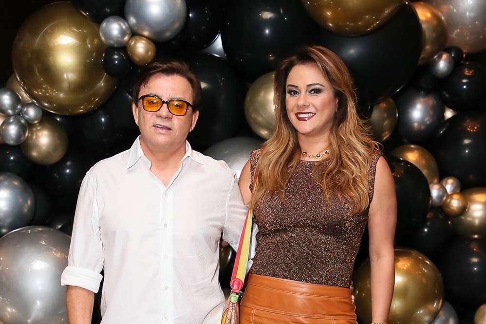 Chitãozinho e Márcia Alves (Foto: Reprodução)