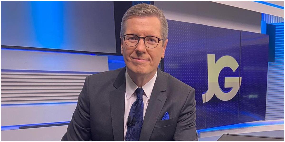 O jornalista Márcio Gomes, da Globo - Foto: Reprodução