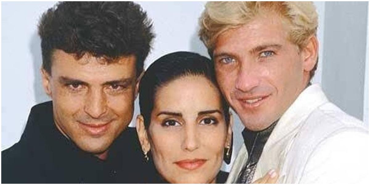 Marcos Manzano com elenco de Vale Tudo - Foto: Reprodução
