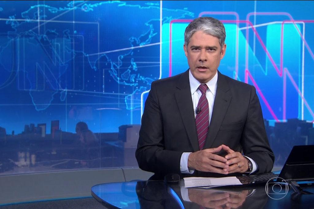 William Bonner, que comanda o Jornal Nacional na Globo, já teria sinalizado o desejo de sair da emissora (Foto reprodução)