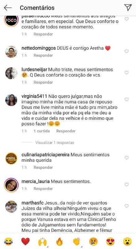 Vanusa morreu e seus filhos foram atacados nas redes sociais (Foto: Reprodução)