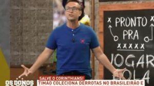 Neto se estressou com a atitude da Globo: (Foto: Reprodução)