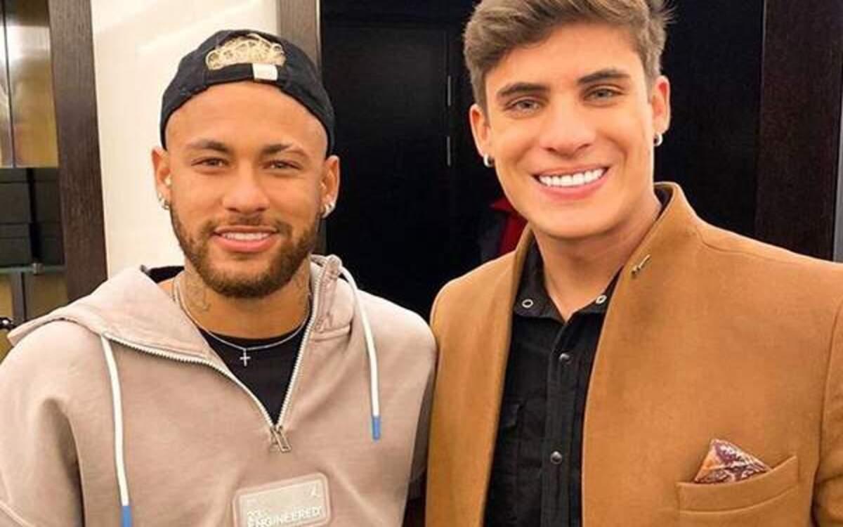 Tiago Ramos e Neymar (Foto: Divulgação)