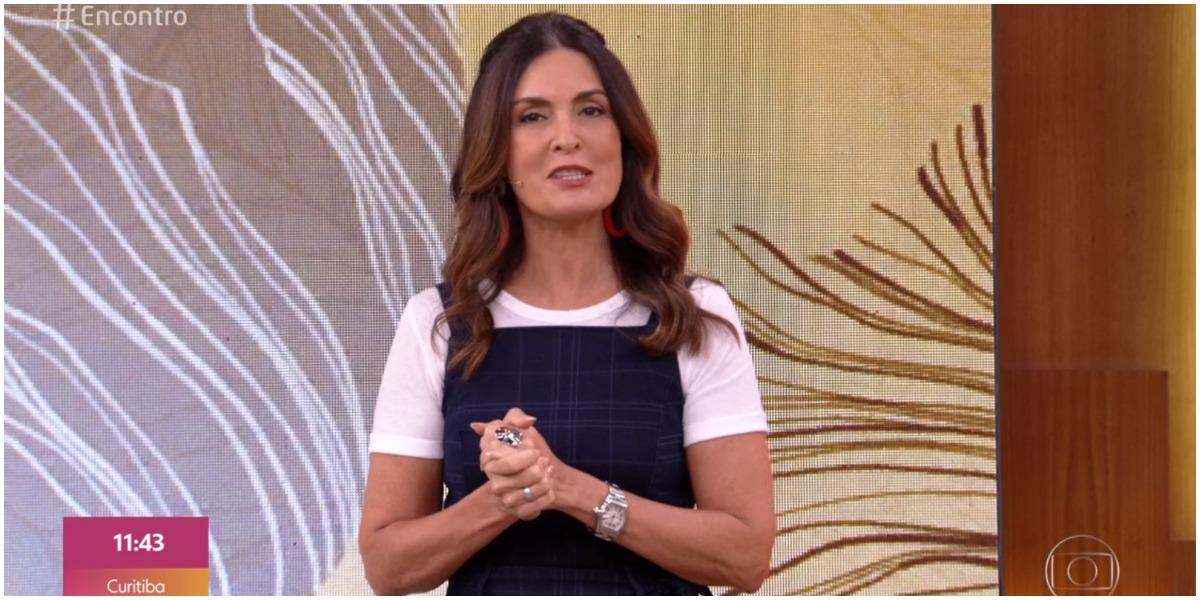Fátima Bernardes fez declaração sobre férias com o namorado (Foto: Reprodução)