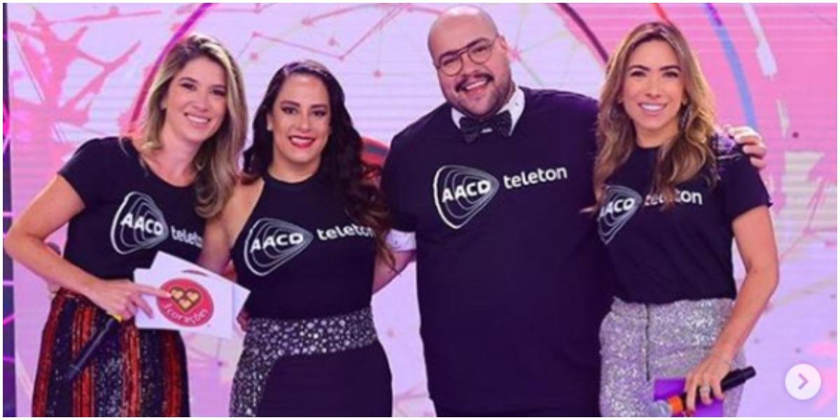 Patrícia Abravanel, Rebeca, Silvia e Thiago