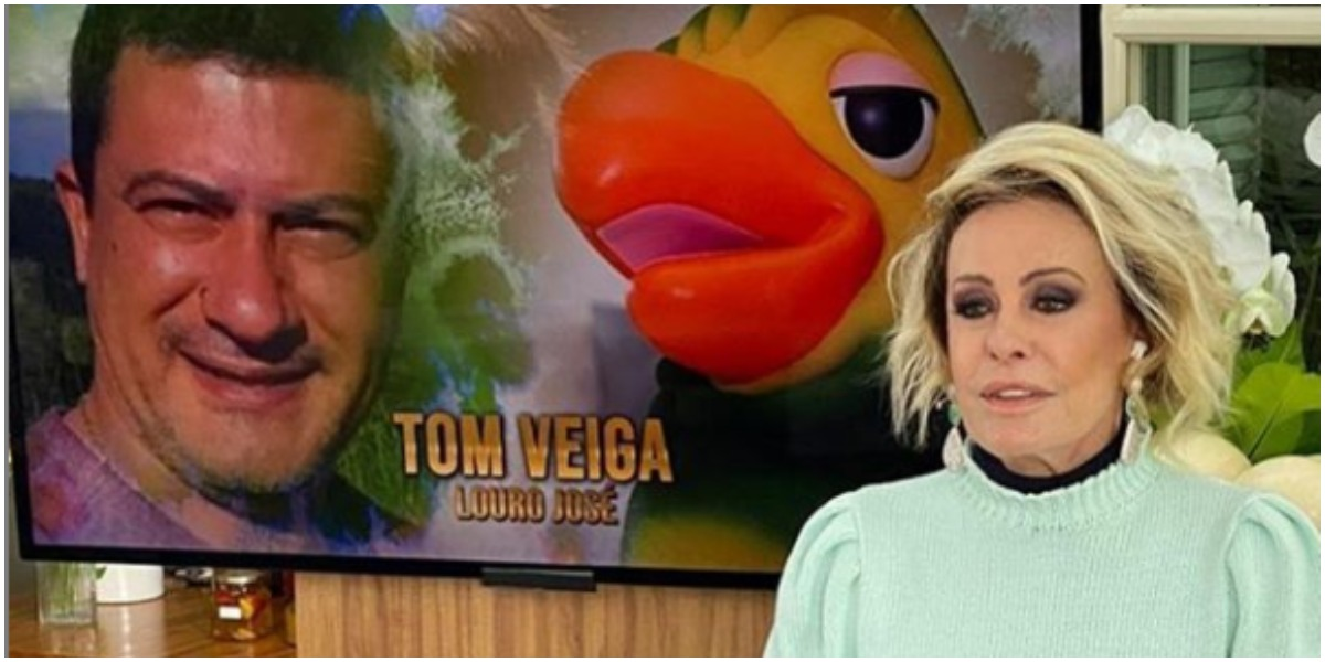 Ana Maria Braga fala ao Fantástico após morte de Tom Veiga (Foto: Reprodução)