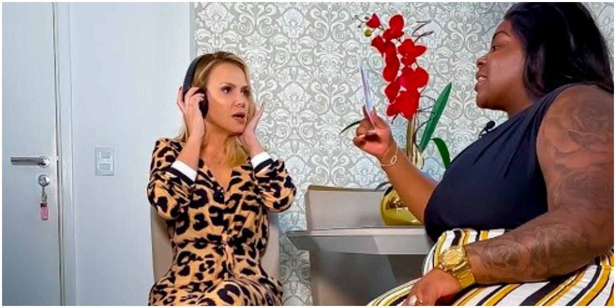 Eliana reprisou a participação de Jojo Todynho e virou piada (Foto: Reprodução)