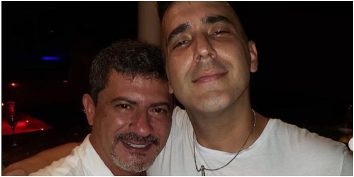 André Marques e Tom Veiga (Foto: Reprodução)