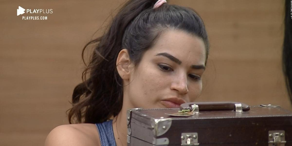 Raissa Barbosa no momento que detonava Jojo Todynho (Foto: Reprodução)