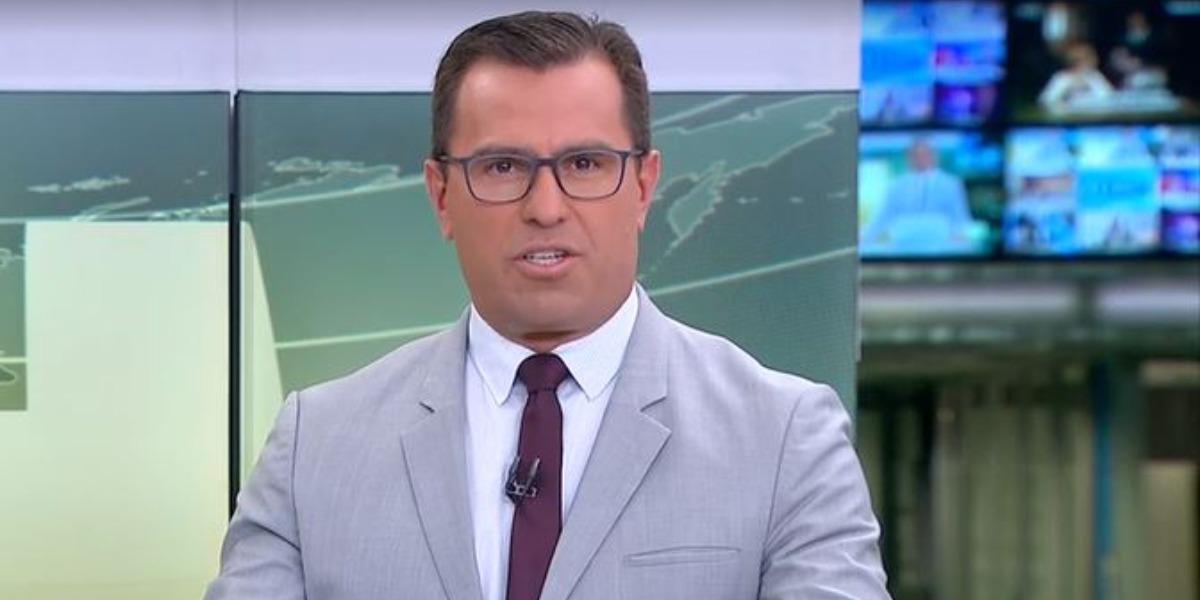 """Rodrigo Bocardi no """"Jornal Hoje"""" (Foto: Reprodução/TV Globo)"""