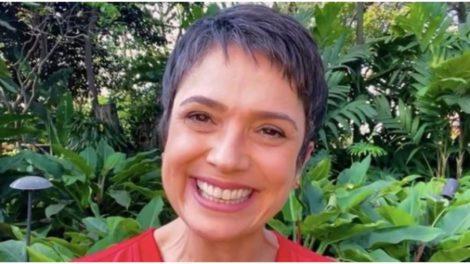 Sandra Annenberg postou foto íntima nas redes sociais e fez alerta (Foto: Reprodução)