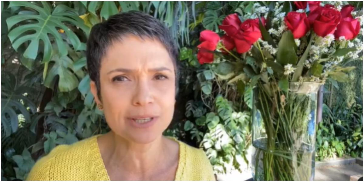 Sandra Annenberg fez um alerta nas redes sociais e chamou a atenção (Foto: Reprodução)
