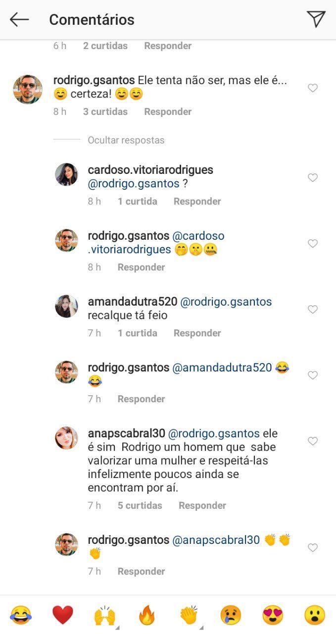 Internauta fez comentário insinuativo sobre o namorado de Sasha Meneghel (Foto: Reprodução/ Instagram)