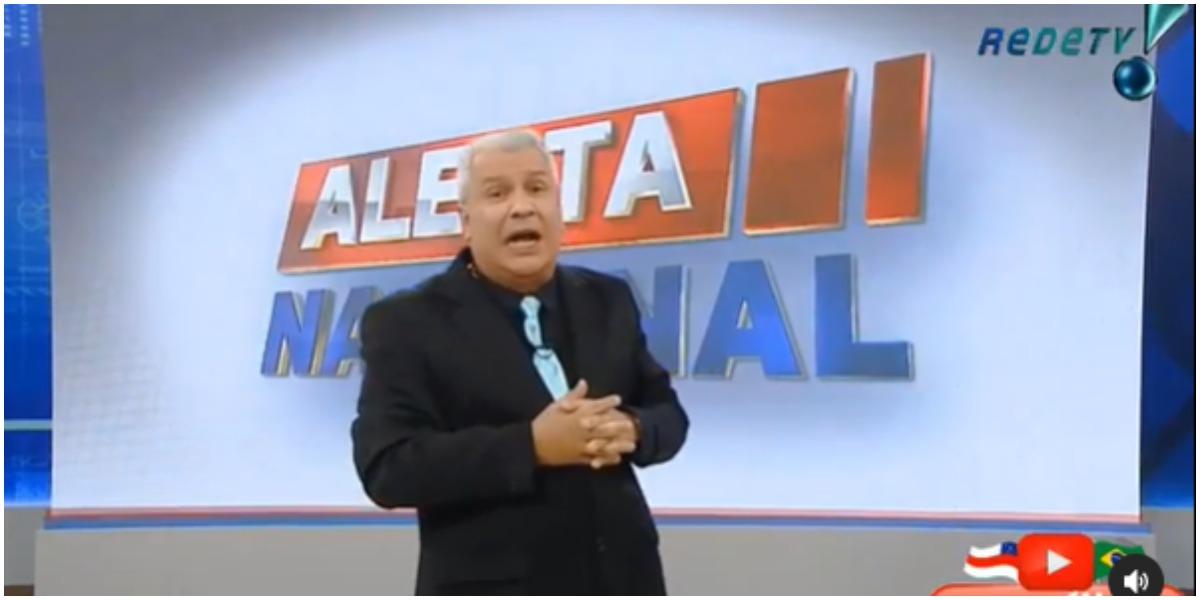 Sikêra Junior no Alerta Nacional (Foto: Reprodução)