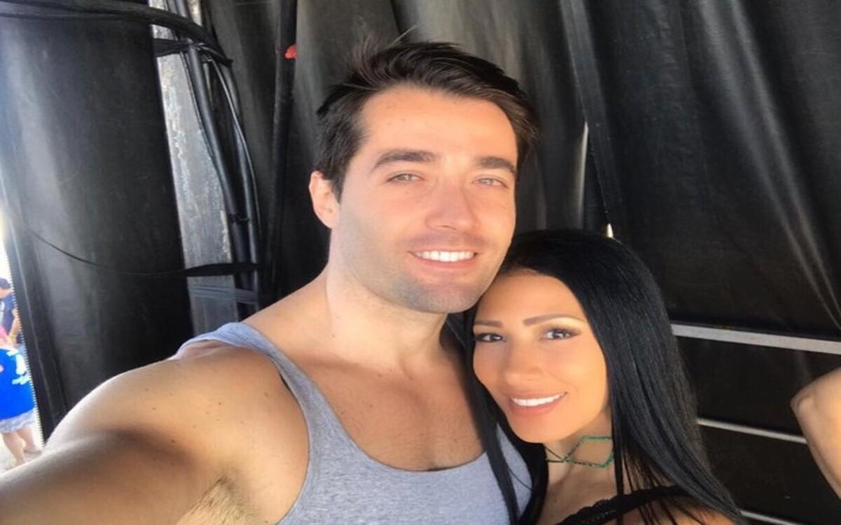 Simaria e seu marido, Vicente Escrig (Foto: Divulgação)