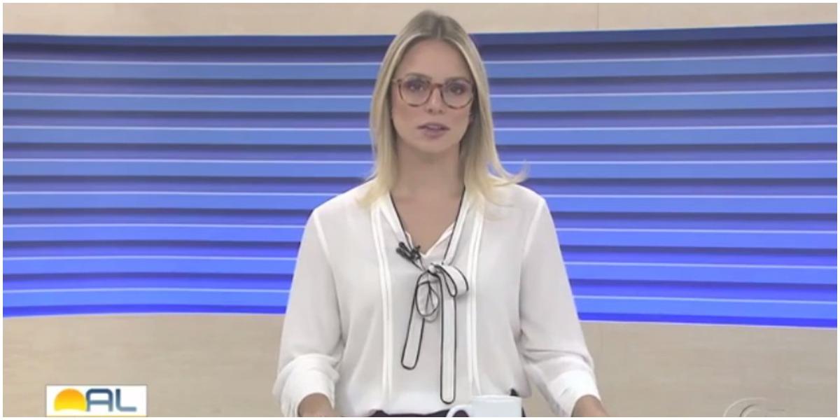 Apresentadora da TV Gazeta - Foto: Reprodução