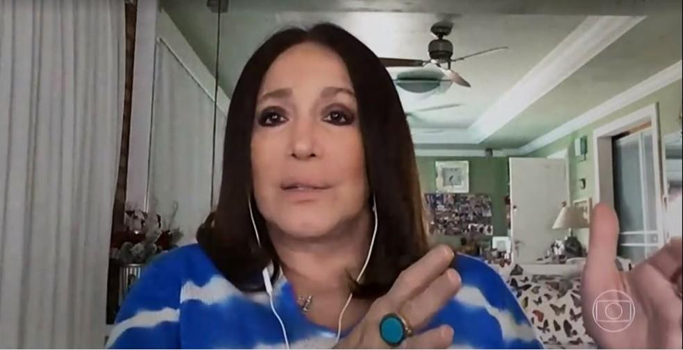 Susana Vieira abriu o jogo e falou sobre seu câncer (Foto: Reprodução)