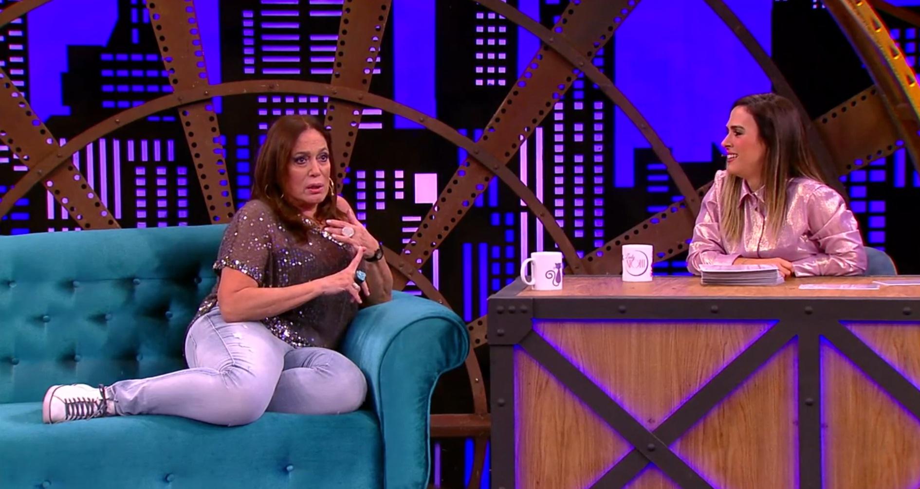 Susana Vieira participa de bate-papo com Tatá Werneck e revela detalhes de sua vida sexual (Reprodução)