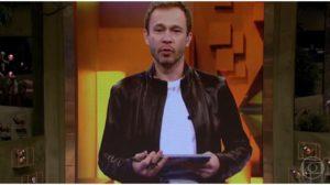 Tiago Leifert durante o BBB20 - Foto: Reprodução