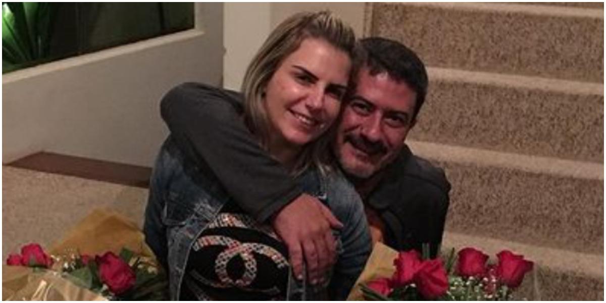 Tom Veiga ganhou um perfil feito pela ex-mulher (Foto: Reprodução)