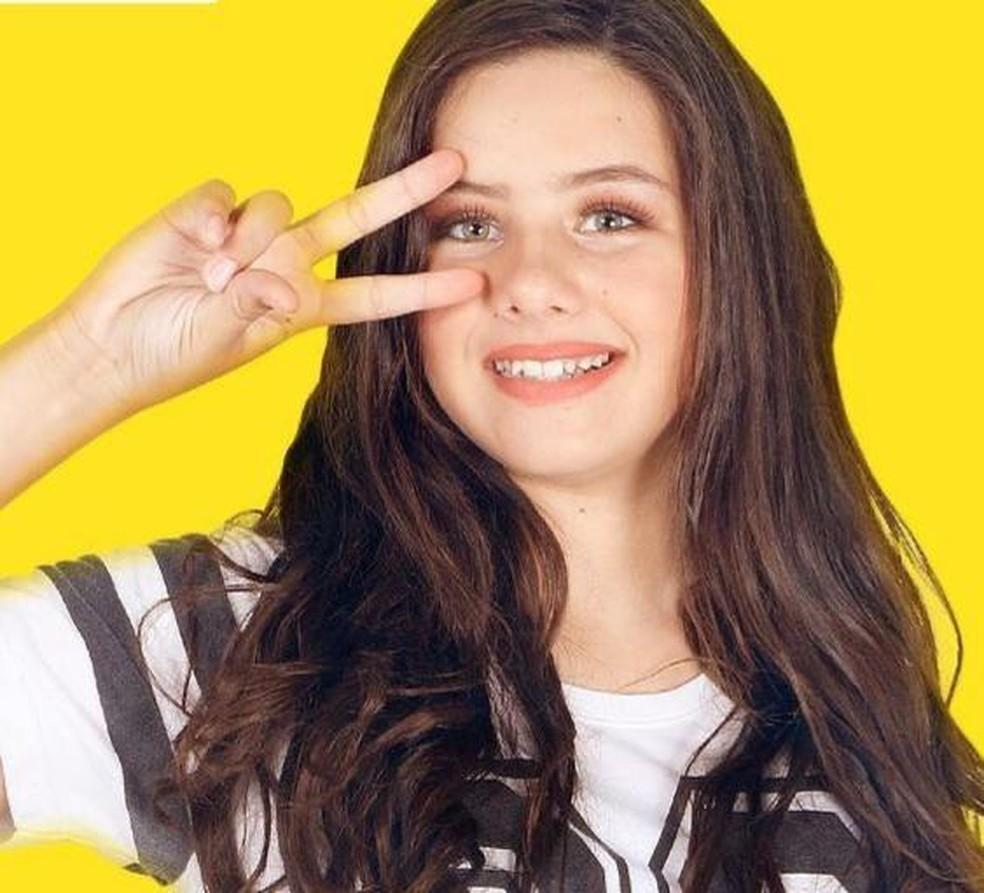 Emily Dias, ex-atriz mirim e modelo (Foto: Divulgação)