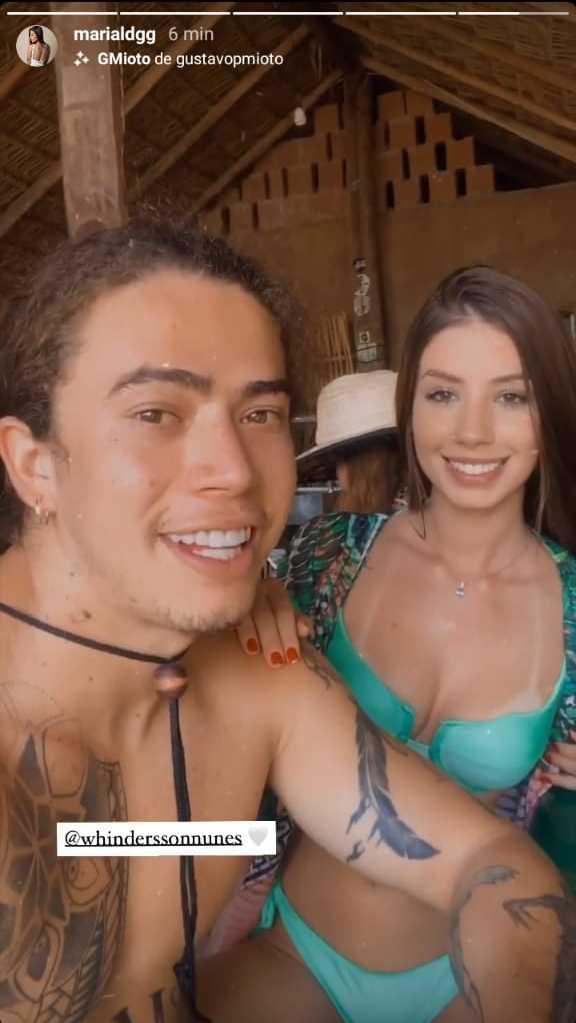Whindersson Nunes surge em primeira foto ao lado de nova namorada e fãs se animam (Foto: Reprodução) público