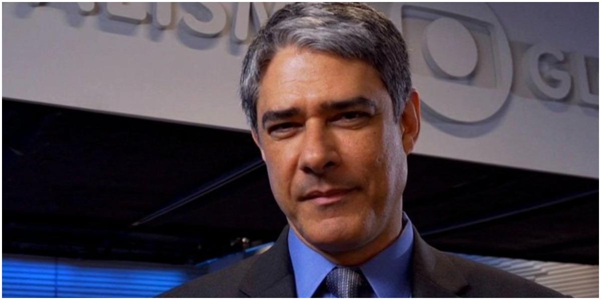 O jornalista William Bonner, da Globo - Foto: Reprodução