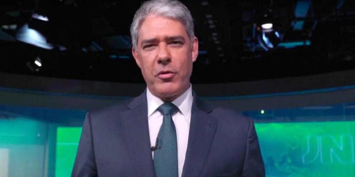 """William Bonner é âncora do """"Jornal Nacional"""" (Foto: Reprodução/TV Globo)"""