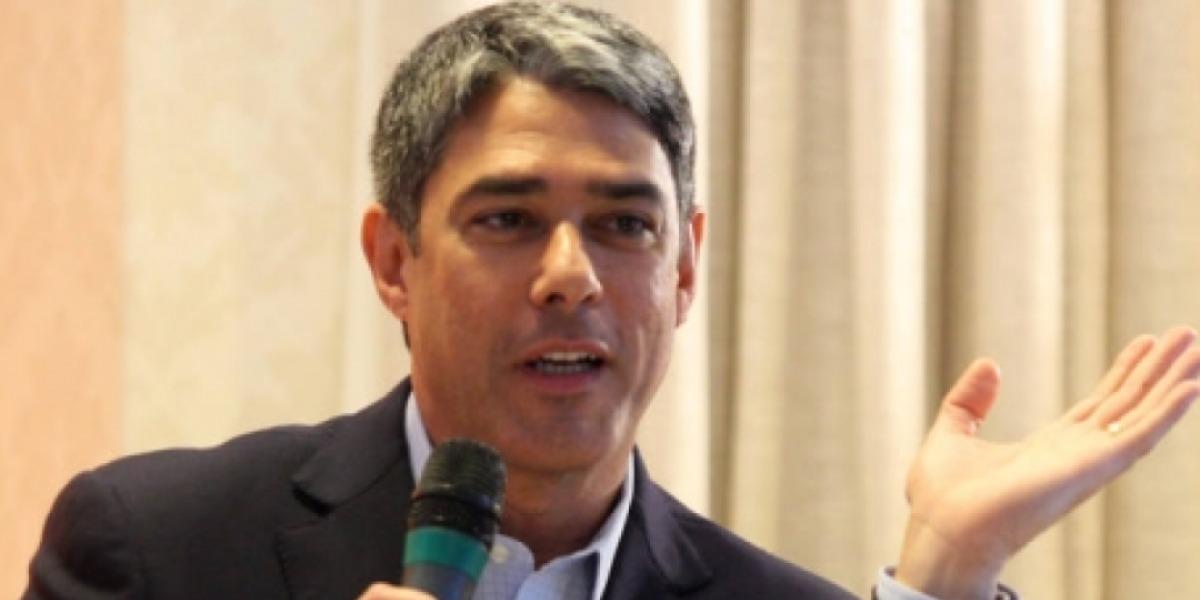 """William Bonner é âncora do """"Jornal Nacional"""" (Foto: Divulgação)"""