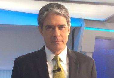 """William Bonner no """"Jornal Nacional"""" (Foto: Divulgação/TV Globo)"""