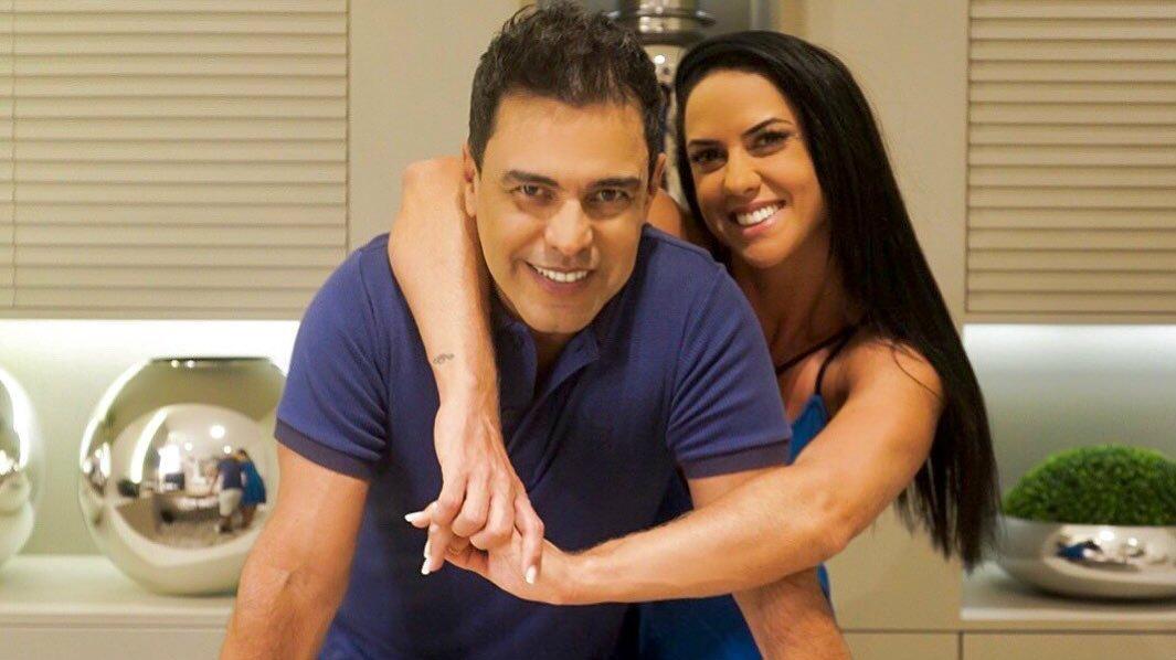 Zezé Di Camargo vem recebendo o apoio de Graciele Lacerda (Foto: Reprodução)