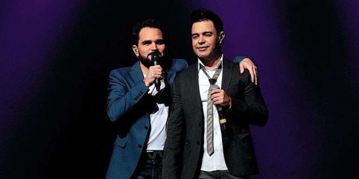 Zezé Di Camargo e Luciano podem colocar fim em dupla (Foto: AgNews)