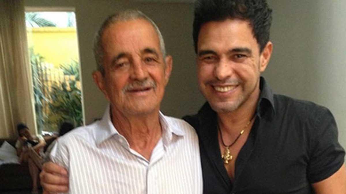 Zezé di Camargo e seu pai, Francisco (Foto: Divulgação)