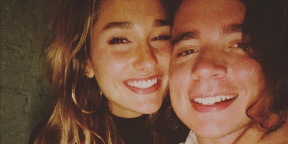 Namorado de Sasha celebra um ano de namoro (Reprodução)