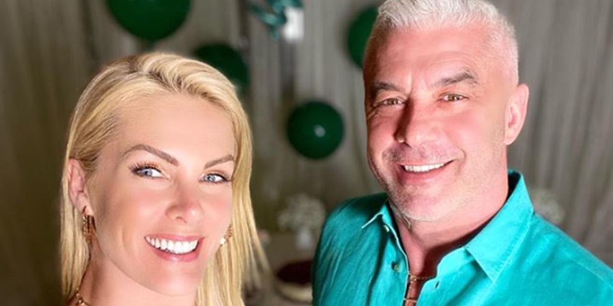 Ana Hickmann ao lado do marido Alexandre Corrêa (Foto: Reprodução)