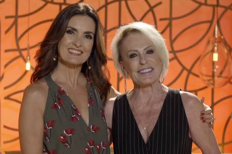 Ana Maria e Fátima Bernardes