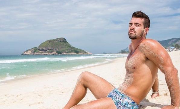 Bruno Miranda, o Borat (Foto: Reprodução / Instagram)