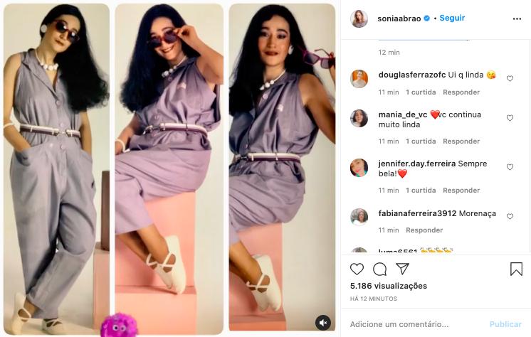 Sonia Abrão surge irreconhecível nas redes sociais (Reprodução)