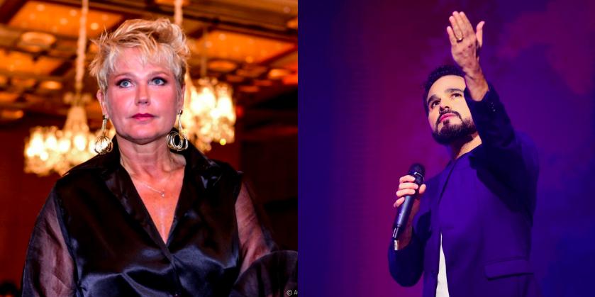 Xuxa revela apoio a nova carreira de Luciano (Reprodução)