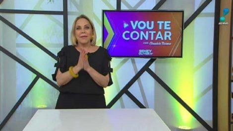Claudete Troiano na RedeTV durante o Vou Te Contar (Foto: Divulgação)