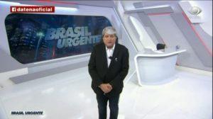 Datena se revoltou e meteu o pau no prefeito e governador de São Paulo