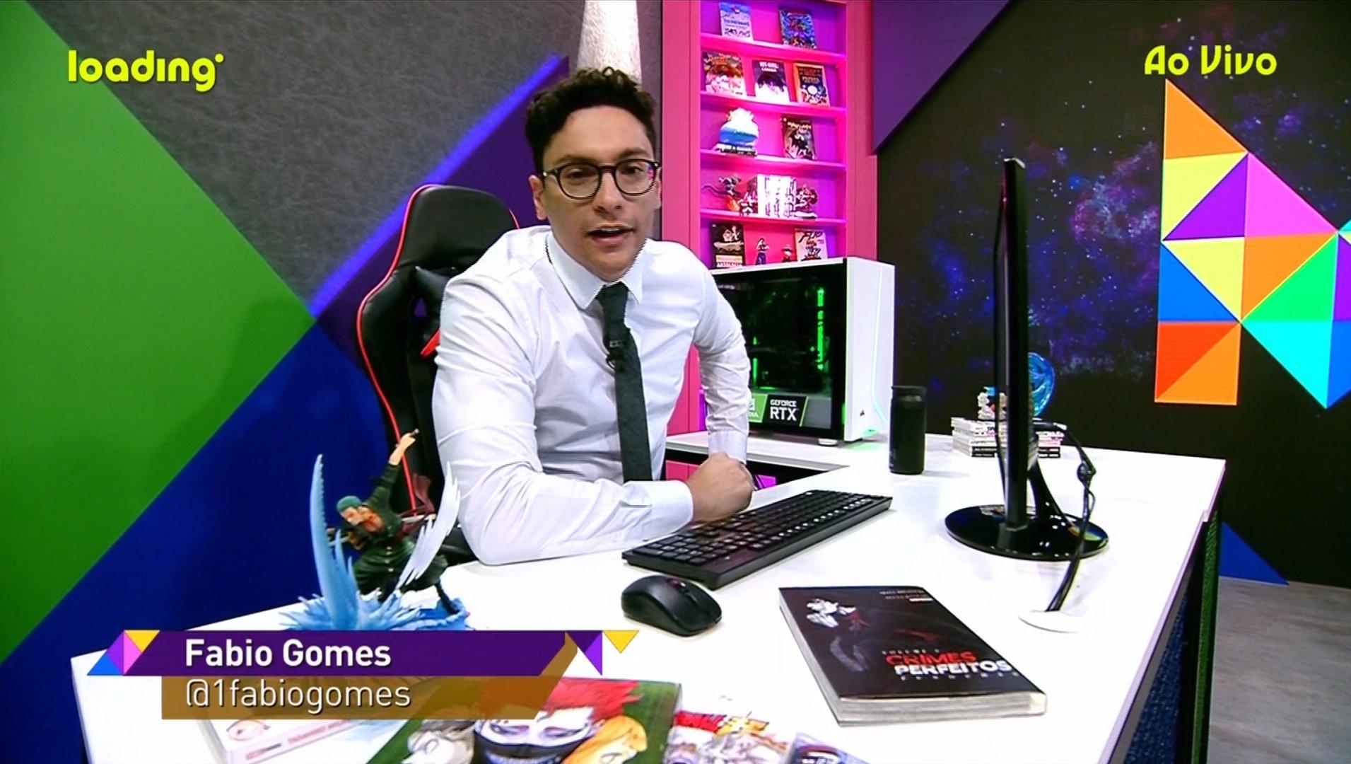 Fabio Gomes no canal Loading (Foto: Reprodução)