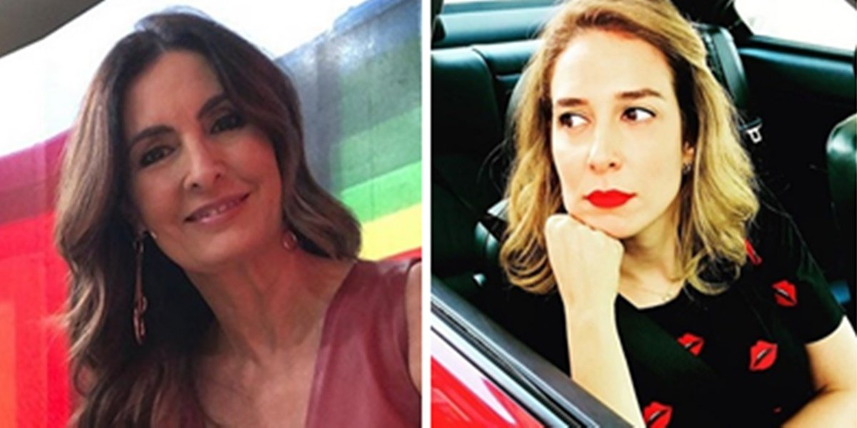 Fátima Bernardes recebeu apoio de Natasha Dantas após descoberta de câncer (Foto: Reprodução)